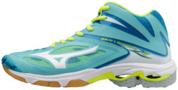 MIZUNO WAVE LIGHTNING Z3 MID DONNA TURCHESE / BIANCO / GIALLO
