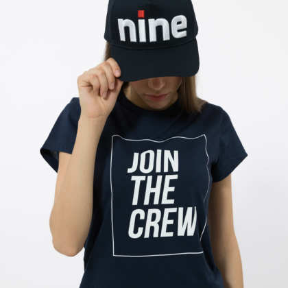 W-TSHIRT-JTC 3 – CAP-BE NINE