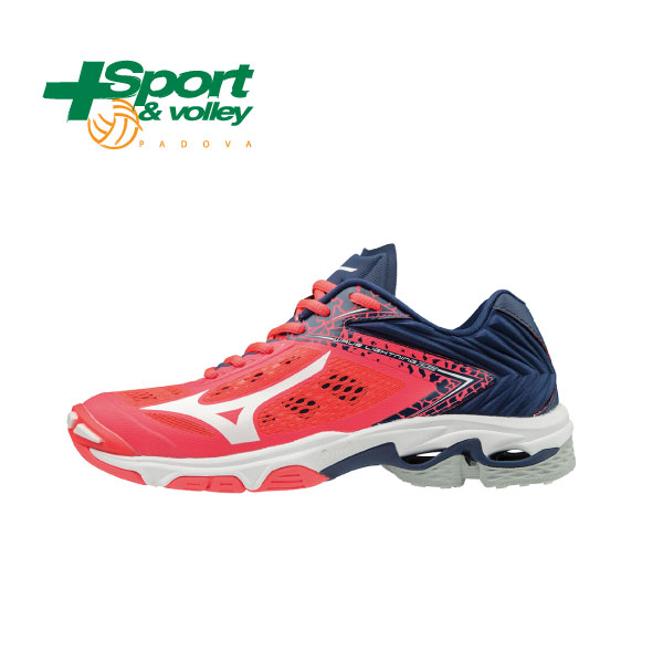 outlet store 7fa3d dec27 MIZUNO WAVE LIGHTNING Z5 Fuxia / Navy / Bianco Donna